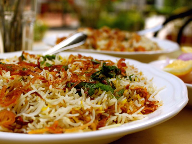 Chicken Berry Pulao