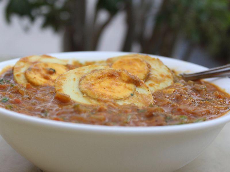 Egg Kadhai