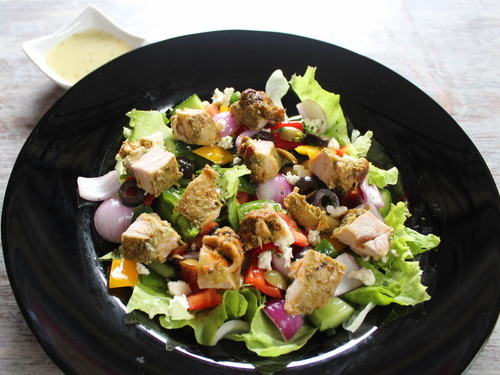 Greek Salad - Chicken