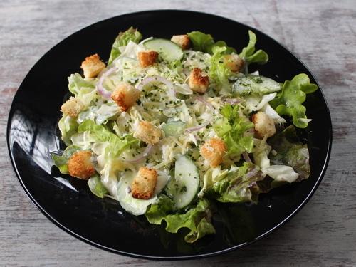 Veg Caesar salad