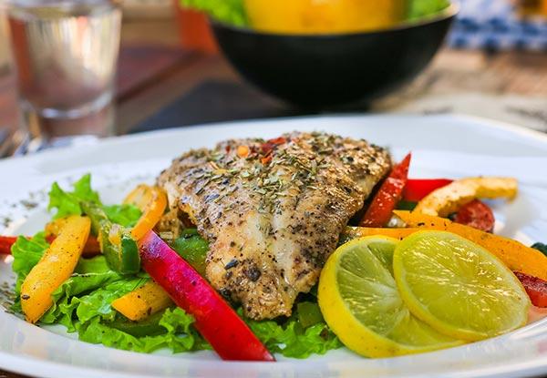 Lemon Pepper Fish (Dry)