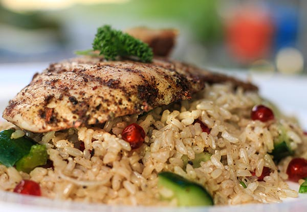 Jewel Rice with Chicken