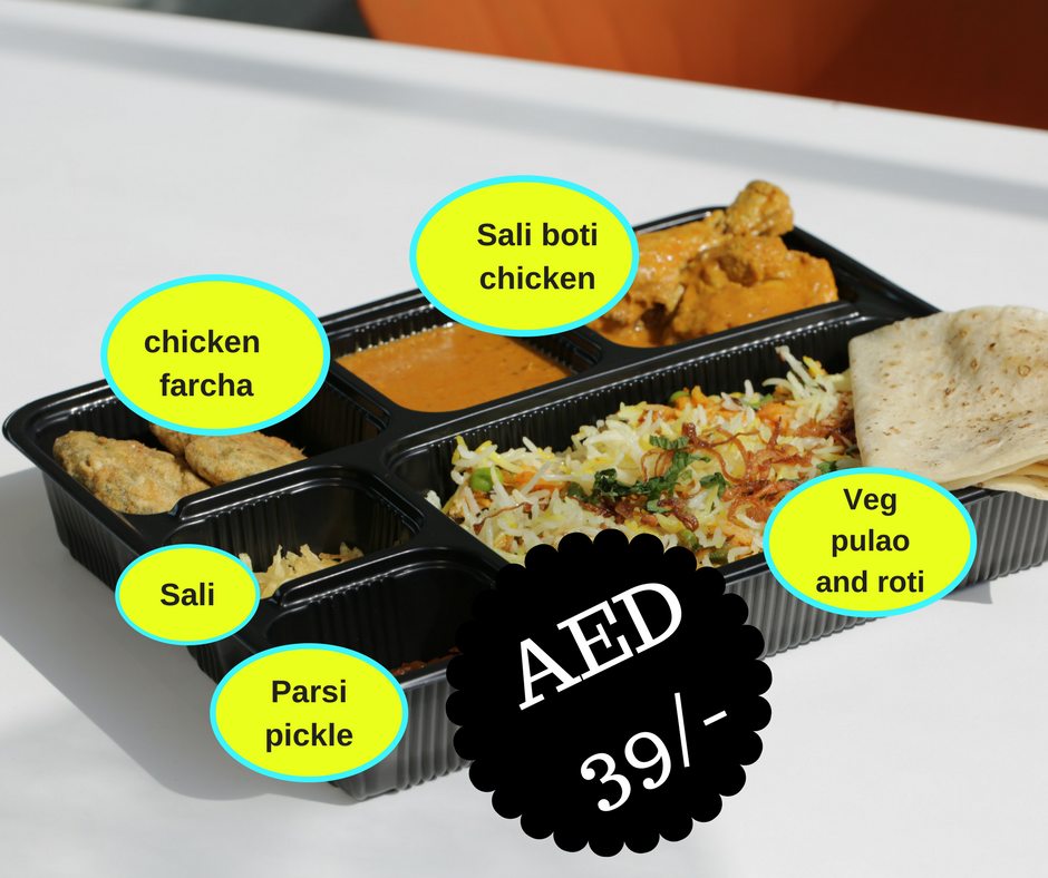Chicken Sali Boti Lunch Box