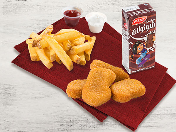 Kids Nuggets Meal (Six Pcs)
