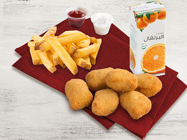 Kids Nuggets Meal (Four Pcs)