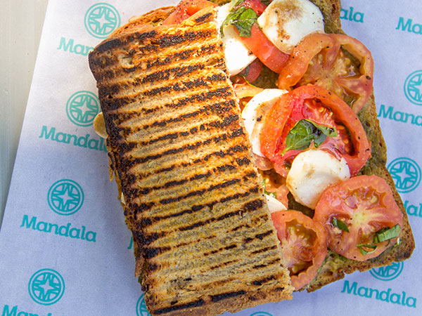 The Toasted Caprese Sandwich