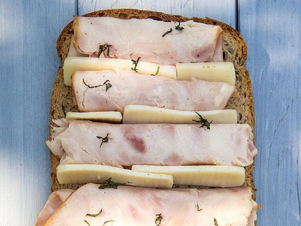 The Croque - Monsieur Sandwich