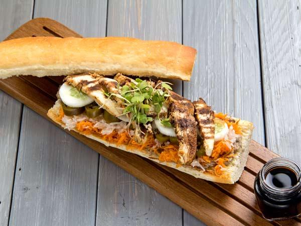 The Vietnamese Banh Mi Sandwich