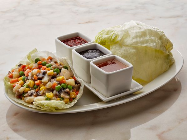Lettuce Wraps with Vegetables