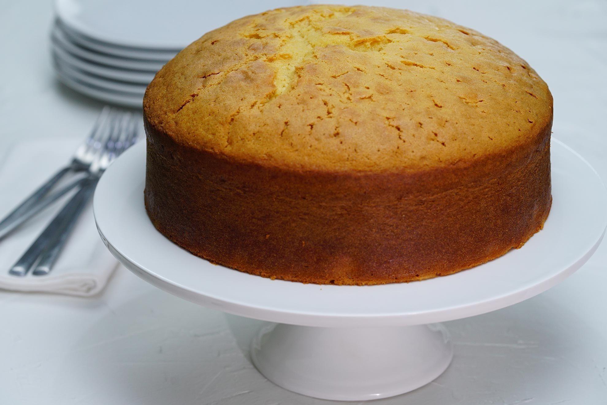 Vanilla Dry Cake