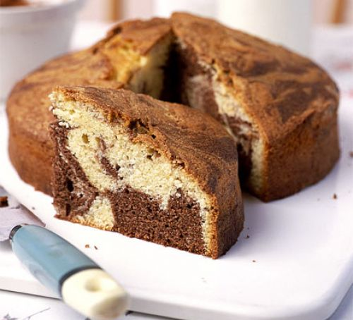 Marble Dry Cake