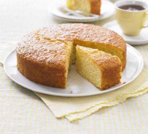 Lemon Drizzle Dry Cake
