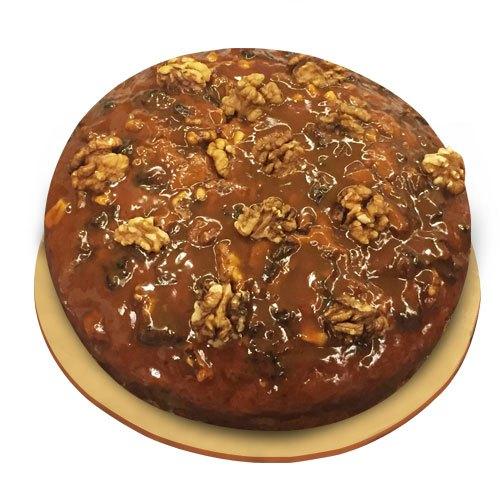 Caramel Walnut Dry Cake