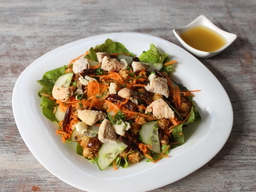 Chicken Middle-East salad