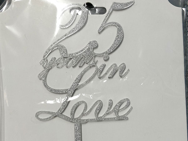25 years in love-silver(Rs. 150)