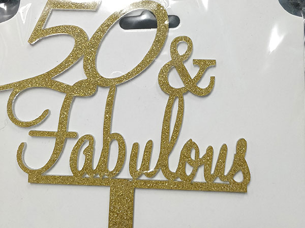 50 and fabulous- gold(Rs. 150)