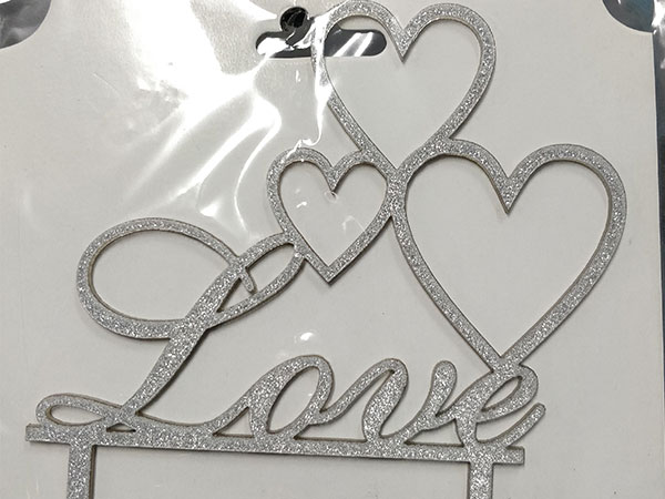 Love - heart- silver(Rs. 150)