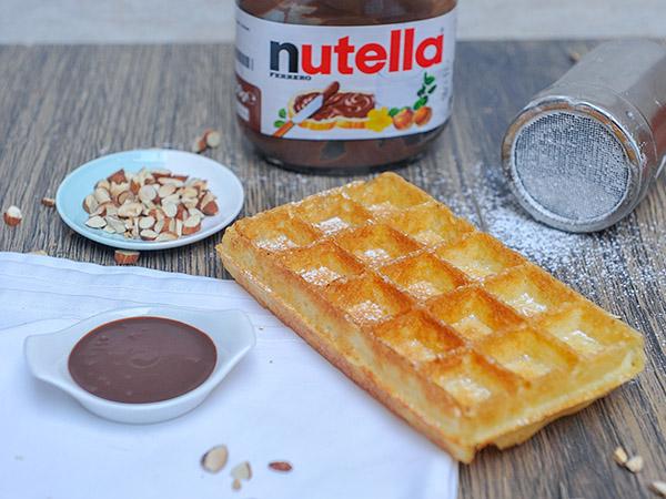 Nutella Woof Waffle