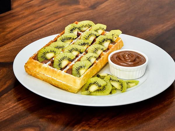 Nutella Kiwi Waffle