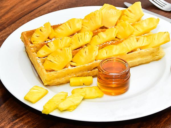 Honey Pineapple Waffle