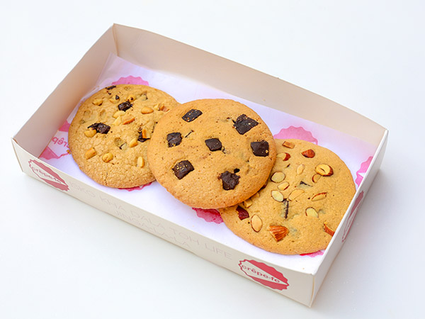 Chocolate Chunk and Almond Cookie
