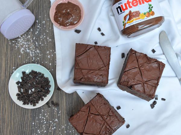Nutella Fudge Brownie