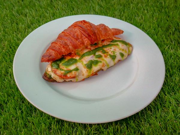 Croissant Pesto Toastie