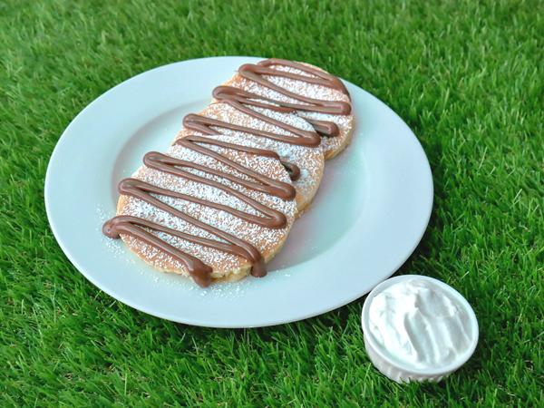 Nutella Mascarpone Pancake