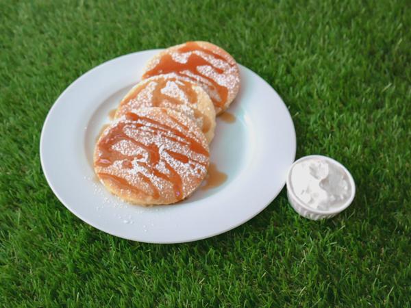 Maple Mascarpone Pancake