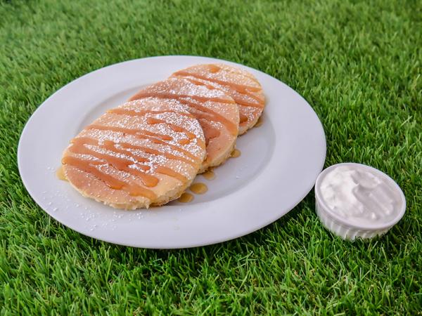 Honey Mascarpone Pancake