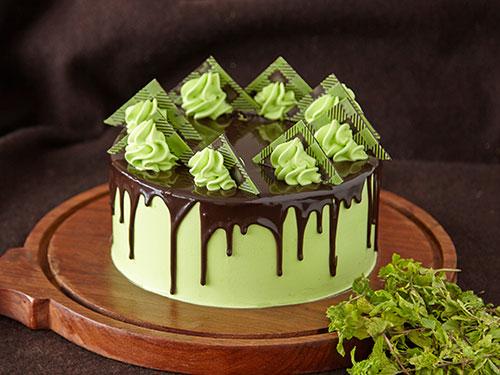 Mint Chocolate Chip Cake [GF]
