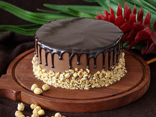 Nutella Hazelnut Cake [GF]