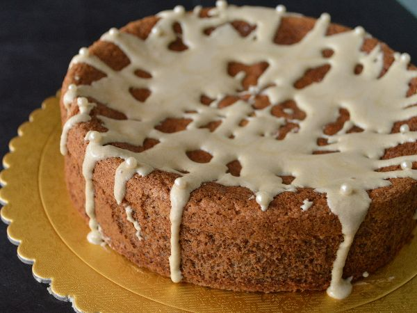 Gluten - Free Coffee Walnut Cake