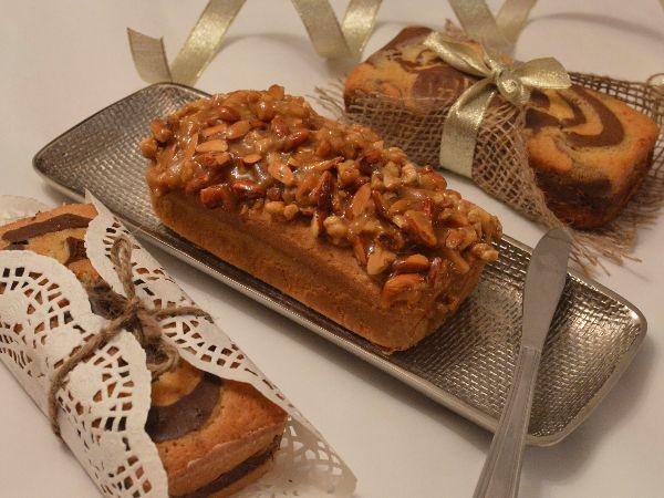 Spiced Honey Nut Cake