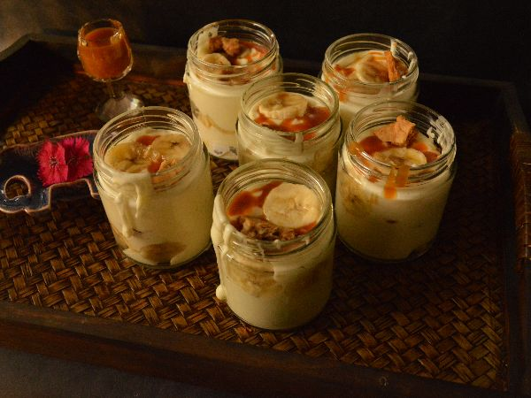 Banana Pudding Jars