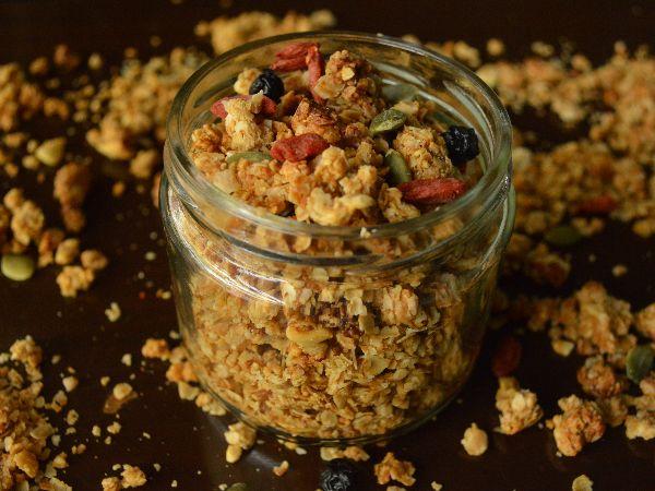 Mocha Granola Cereal (250 Grams Pack)