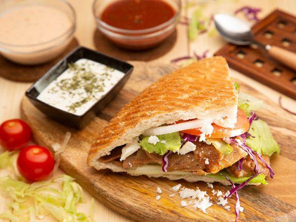 Classic Feta Pita Meal