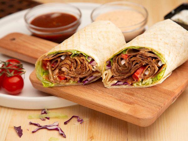 Triple D Wrap Meal