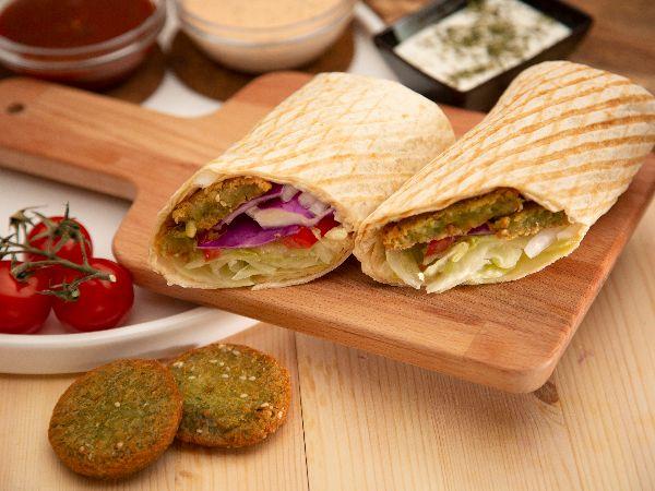 Wrap Falafel Meal