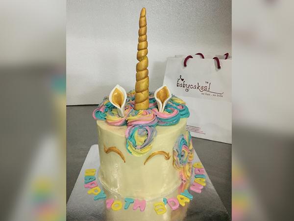 Unicorn Cake [2.5 Kg]