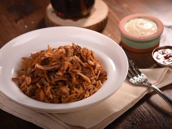 Doner Kebap with Turkish Rice