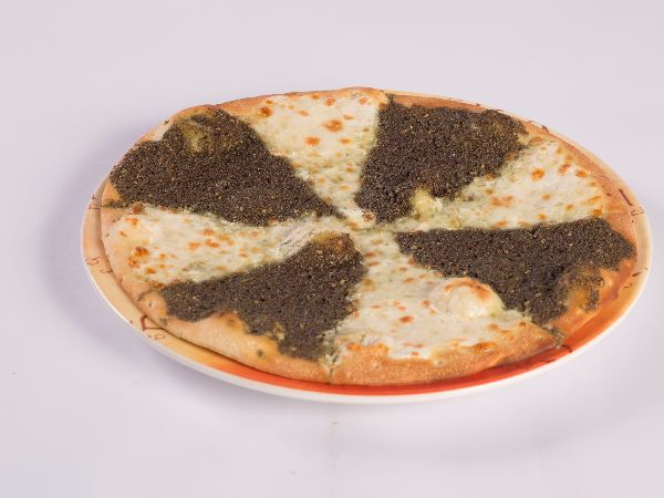 Cheese & Zaatar Manoushe