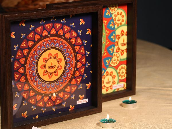 Diwali Gift Number 7 (Small Diwali Tray)