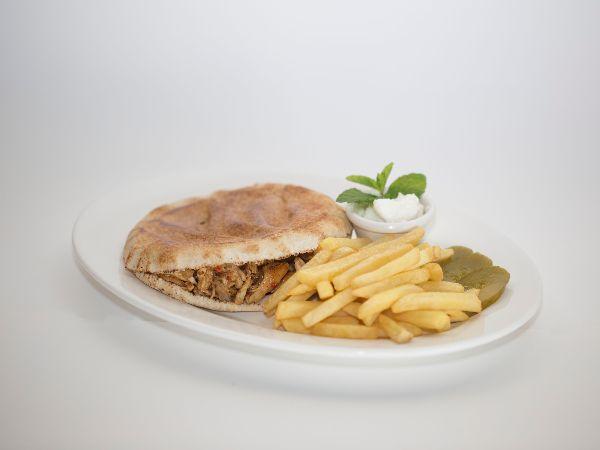 Shawarma Plate (Meat)