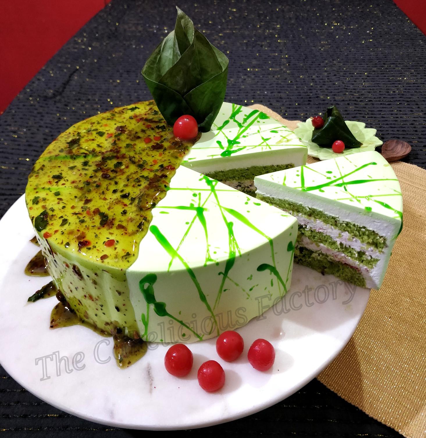 Paan-e-Shahi Cake