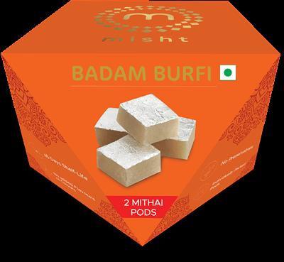 Badam Burfi [2 PODS]