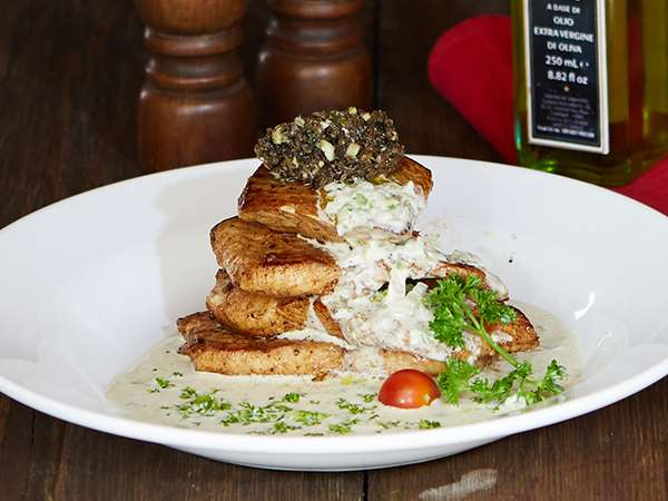 Grilled  Fish with Truffle sauce