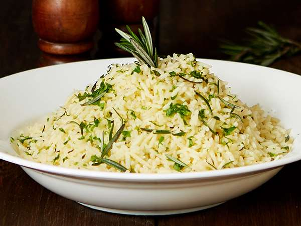 Buttered Rosemary Rice
