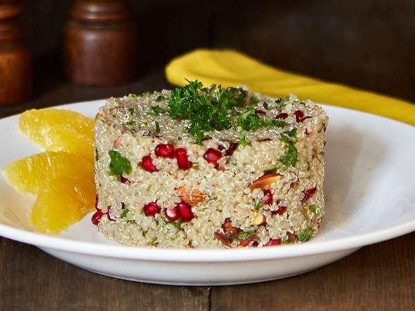 Fruit and Nut Quinoa Salad