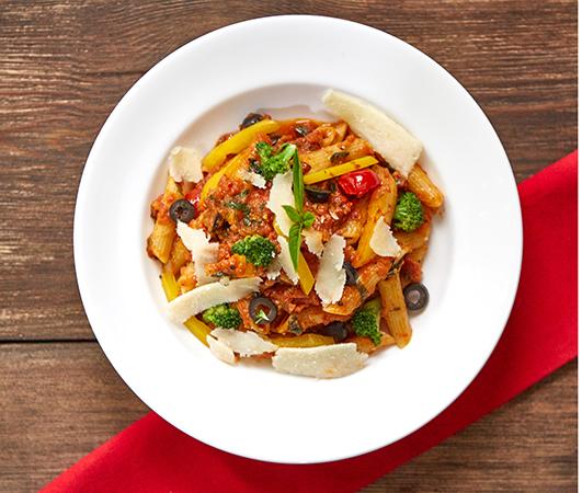 Pasta  Arrabiata with Chicken (Combo)